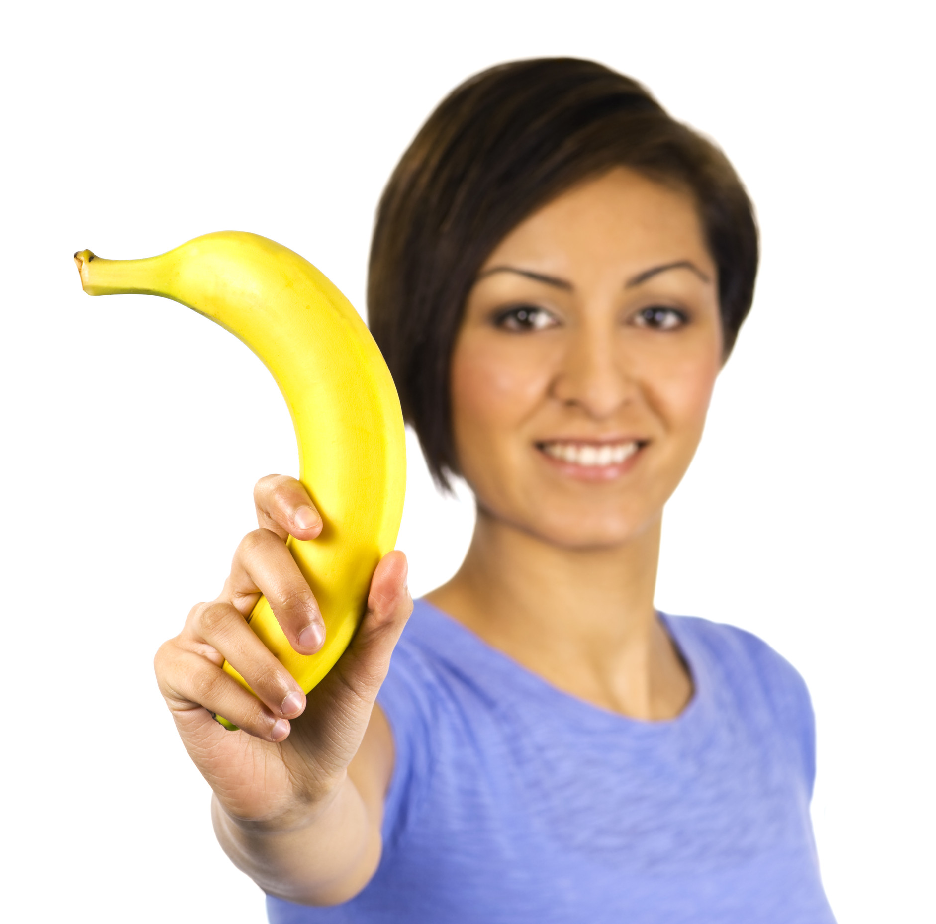Woman Fruit Bananan