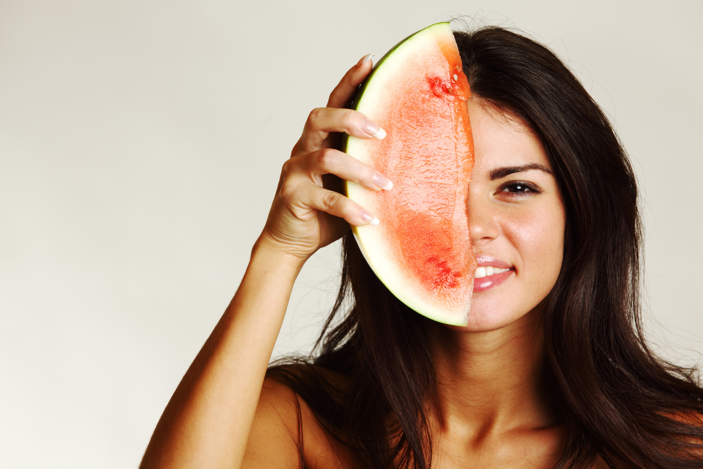 Woman Watermelon