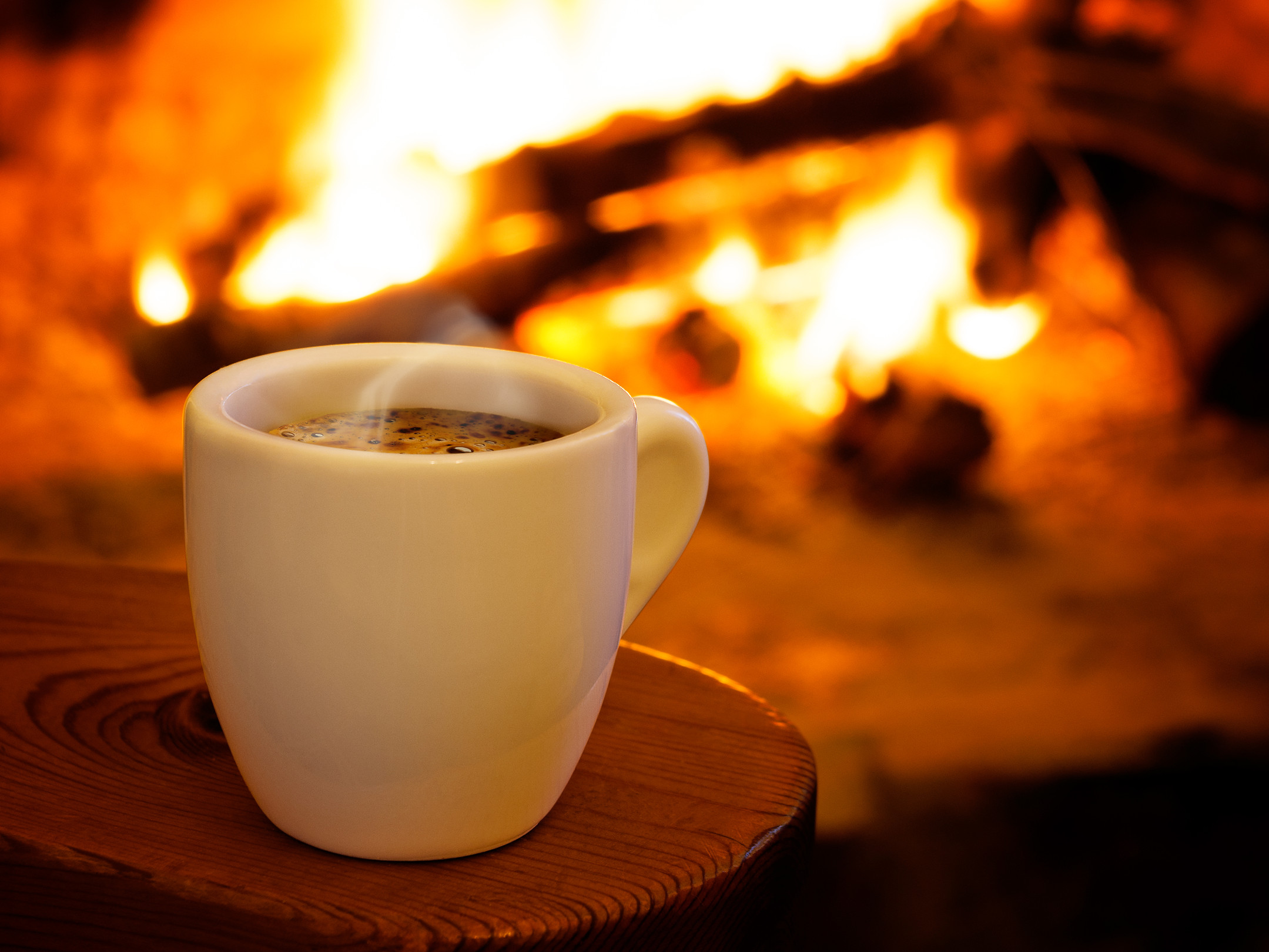 Coffee Fireplace