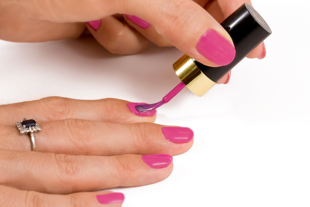 AntiAging Pink Nailpolish