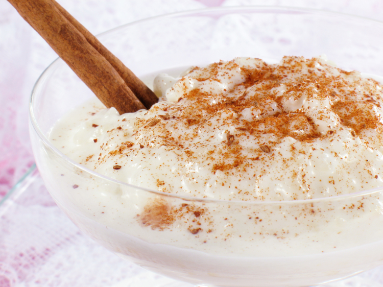 FoodCinnamonRicePudding